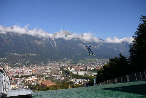 Innsbruck hosted the 1964 and 1976 Winter Olympics